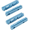 Ritchey WCS Carbon Brake Pads Shimano 4pcs blue